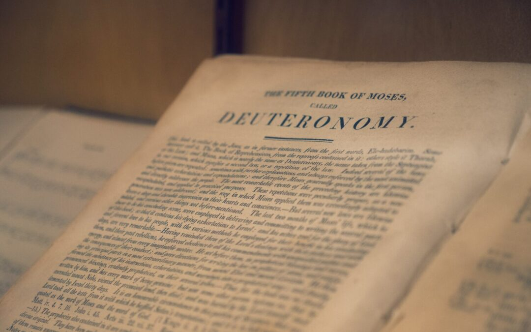 Final Lessons on Devotion from Deuteronomy
